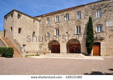 Le Castellet, France april 20 2016 the city hall in