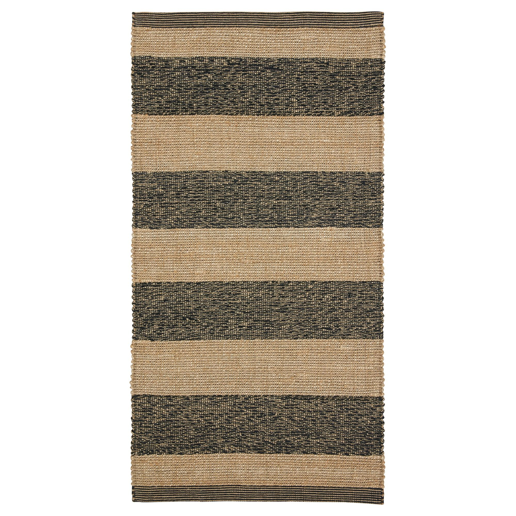 Ugilt Rug Flatwoven Black Beige Gray Beige 31 1 2x59 Rugs Rugs On Carpet Grey Beige