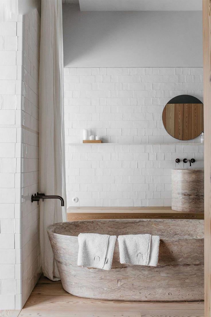 Photo of Modern neutral bath