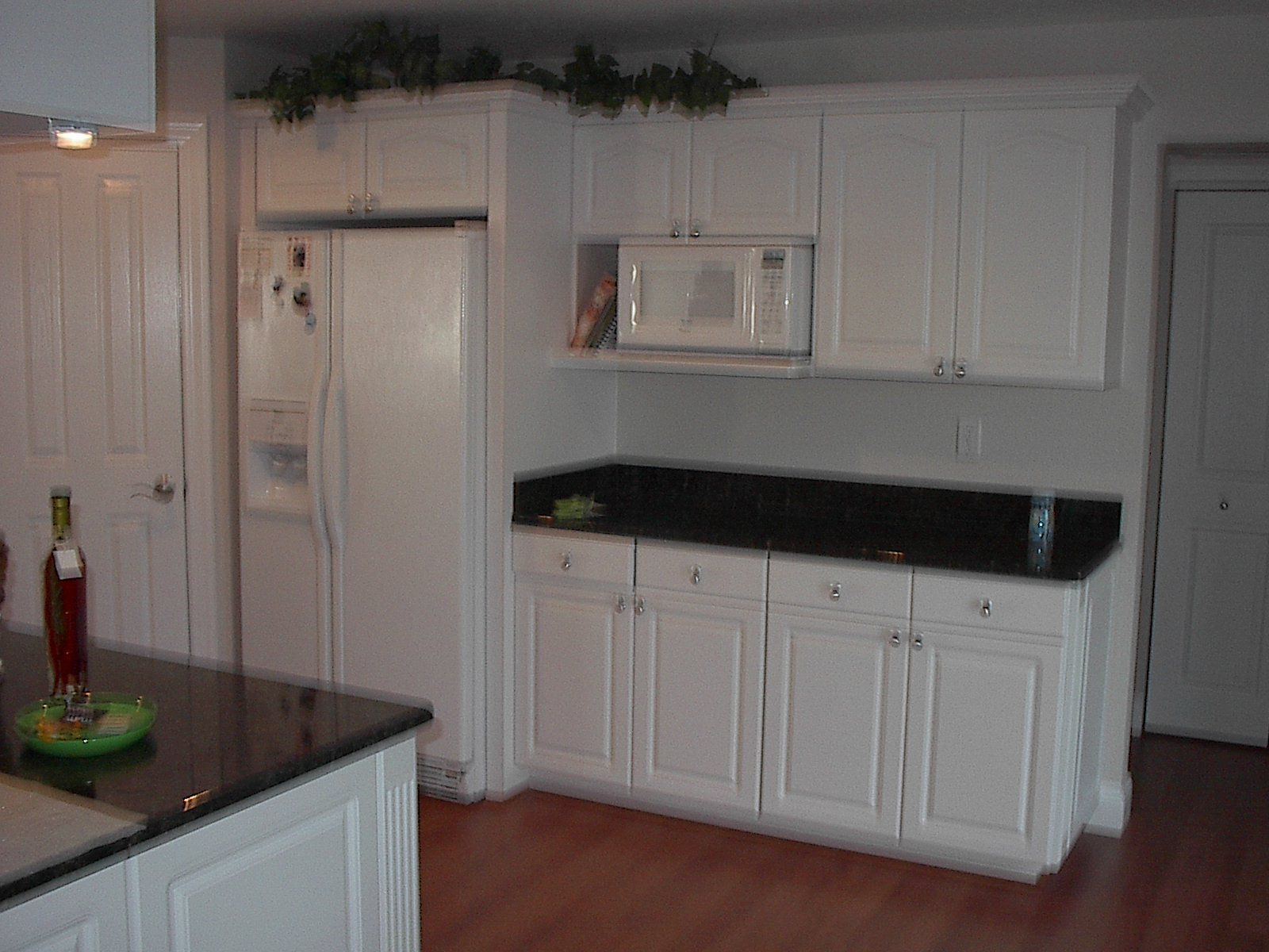 paint cabinets coastal thermofoil white to cabinet diy kitchen how slightly tutorials