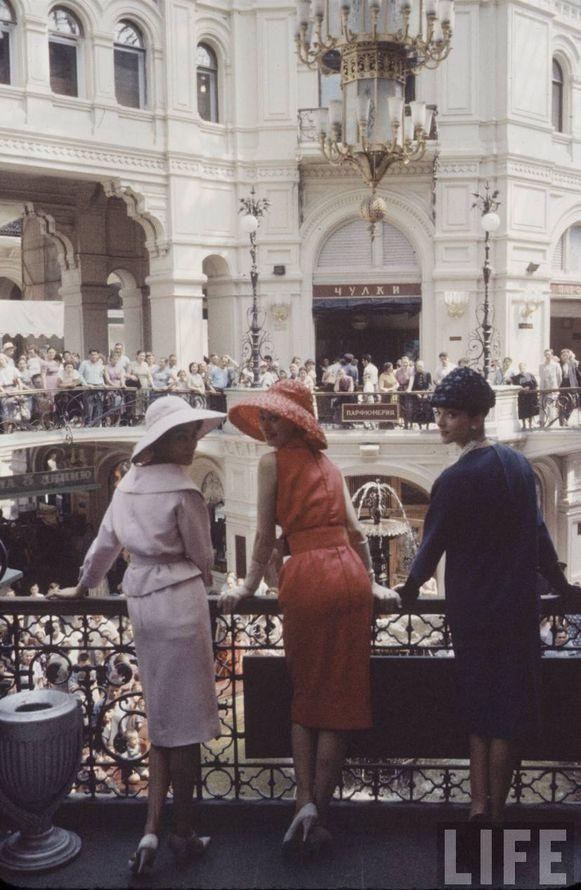 История о том, как женщины из СССР вепрвые увидели моделей Dior Fashion