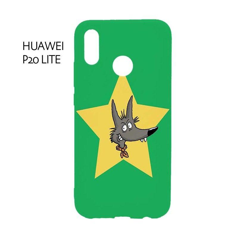 coque huawei mate 9 loup