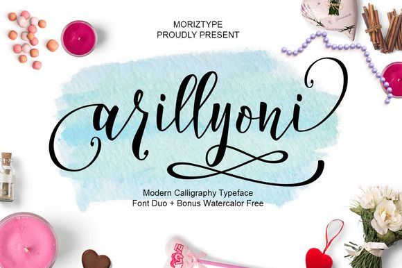 Arillyoni script font duo by moriztype on creativemarket arillyoni script font duo by moriztype on creativemarket m4hsunfo