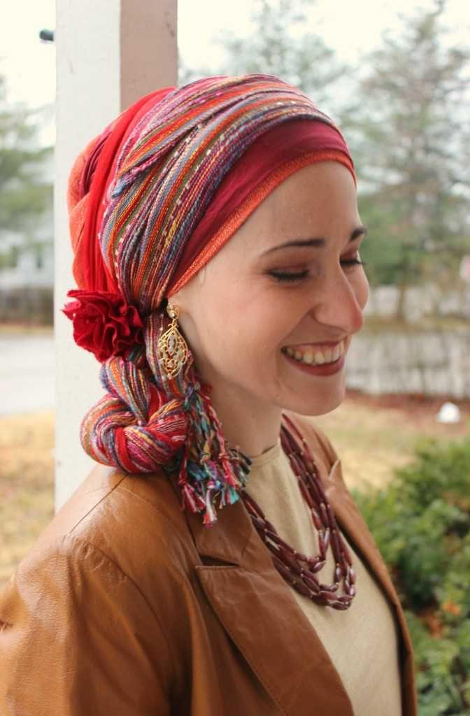 New York Brights Scarf | Pinterest | Kopftücher, Tücher und Tuch binden