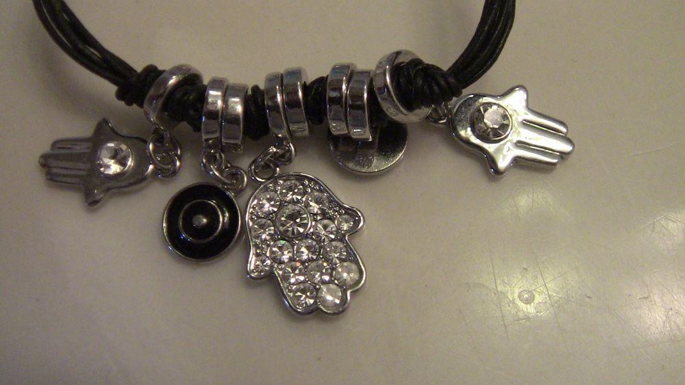Bracelet Silver Jain Symbol Charms Unbranded Ebay Pinterest
