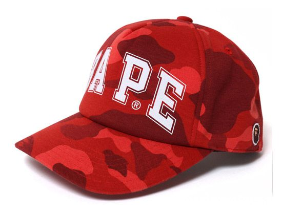 "14a2ba6c1da BAPE ""Color Camo"" Snapback Cap Five Panel Hat"