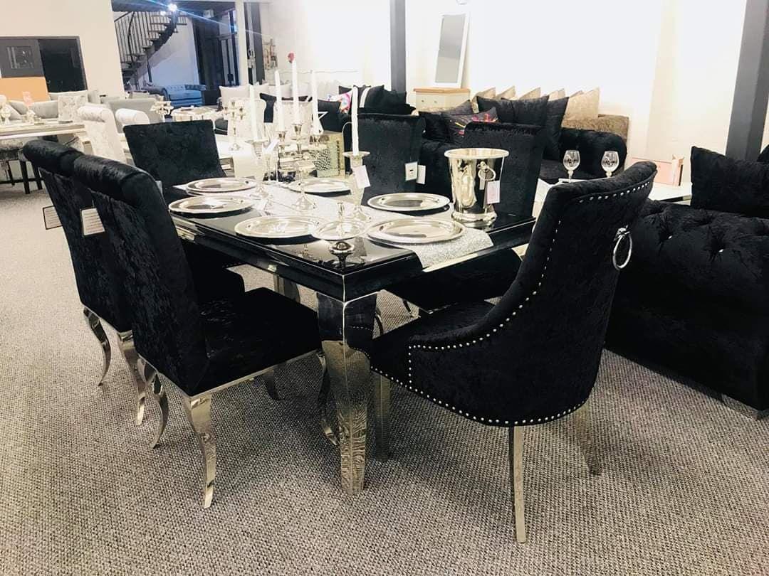 The Windsor Premium Dining Chair The Stunning Velvet Imperial
