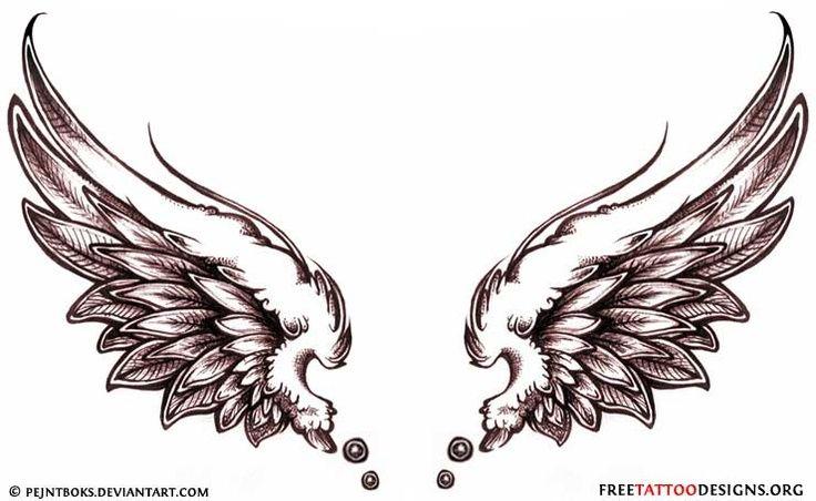 Tattoo Ideas Central Neck Tattoo Wings Tattoo Wing Tattoo Men