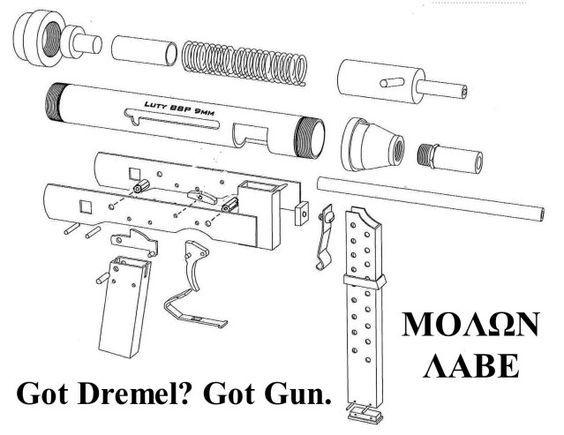 3d models of weapons  blueprints   guns