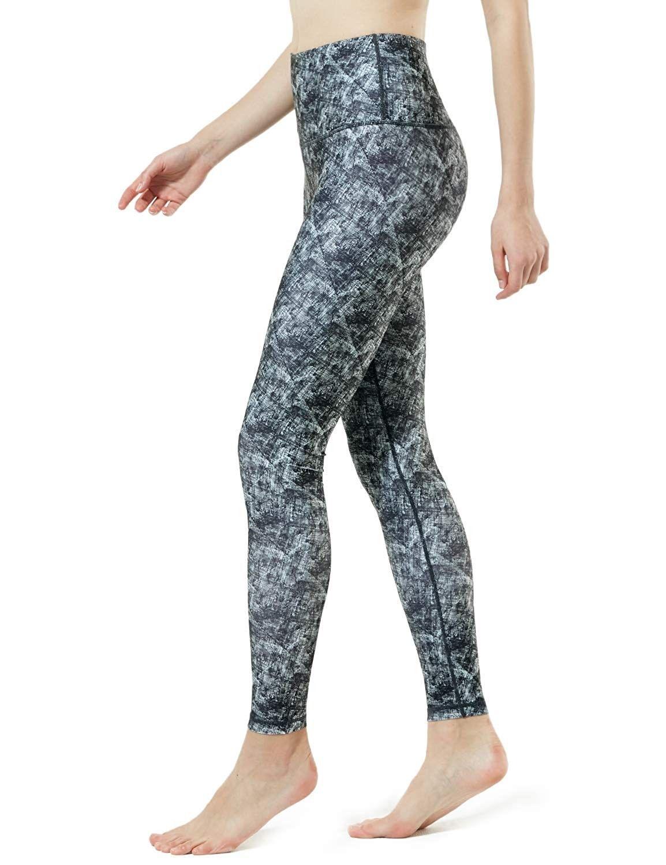Yoga Pants High-Rise ATY Tummy Control FYP72 / FYP74 / FYP52 / FYP54 - V-TM-FYP58-ABK (Thick-contour...