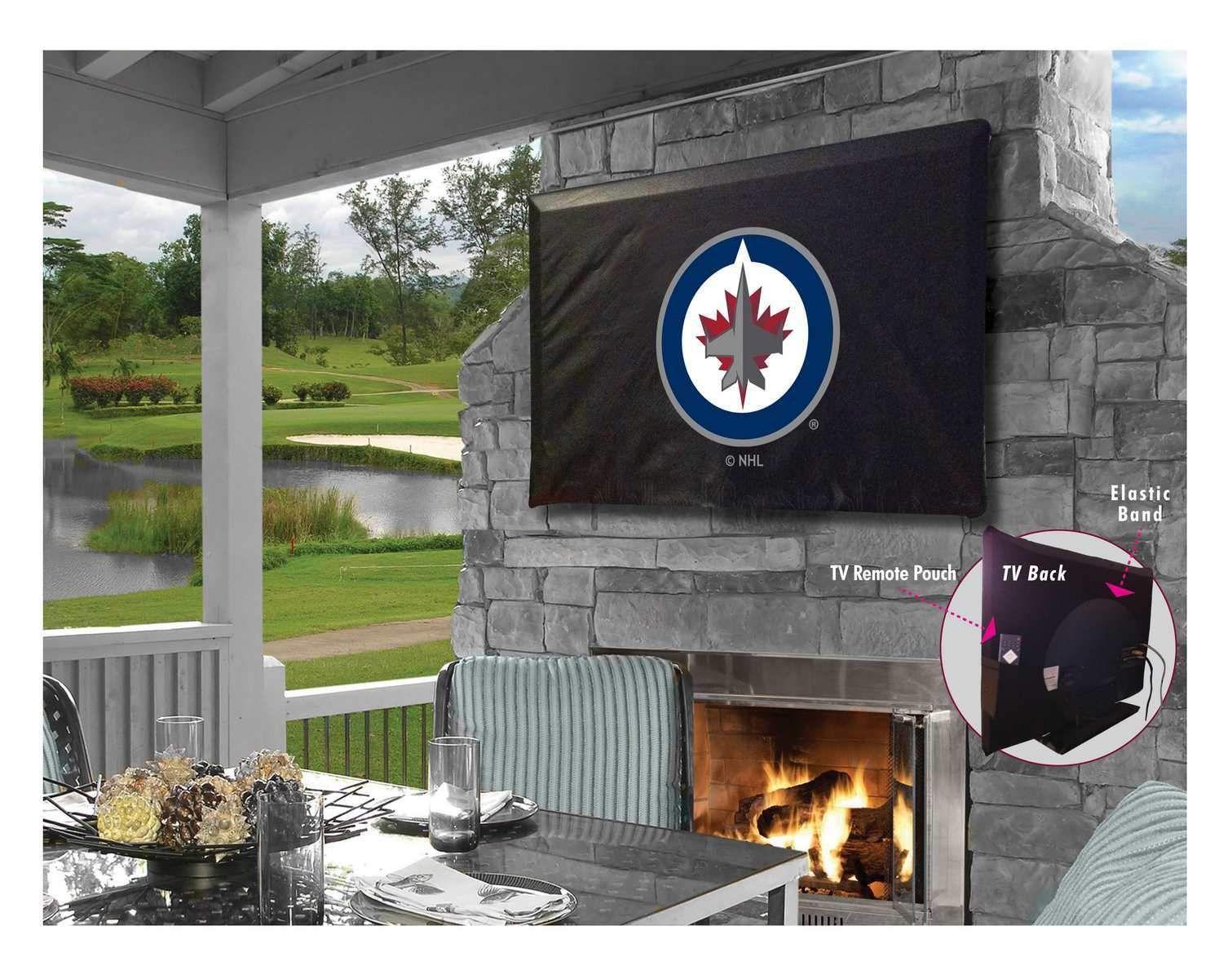 Winnipeg Jets HBS Breathable Water Resistant Vinyl TV