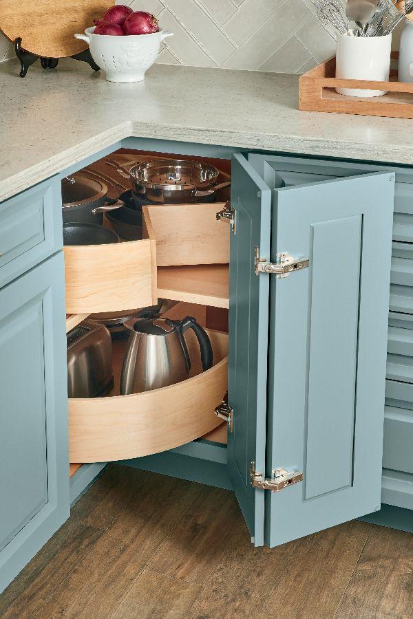 Kitchen Cabinet Ideas For Every Lifestyle Storage Ideas To Make Your Life Easi Corner Storage Cabinet Corner Kitchen Cabinet Kitchen Cabinet Organization