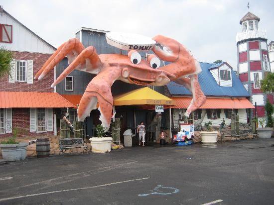 Giant Crab Seafood Restaurant Disney Scrapbooking Ideas