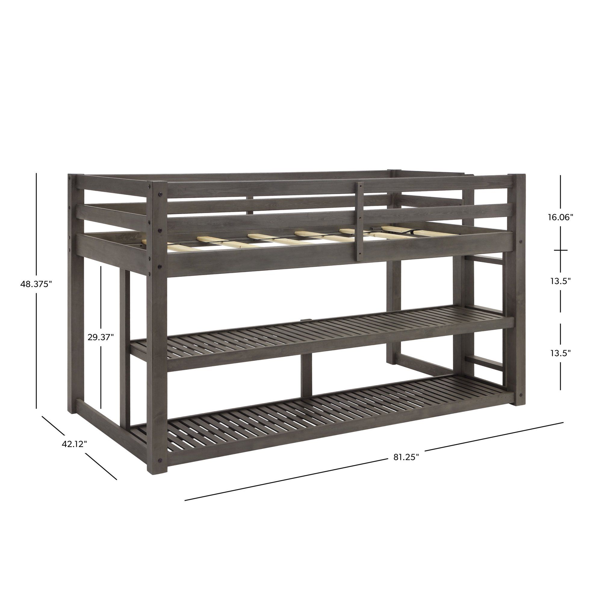 fddd0533e4ed2b49473ac36ff5cd1461 - Better Homes & Gardens Loft Bed With Spacious Storage Shelves