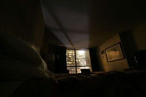 Dark bedroom at night google search dark and light for Bedroom night light