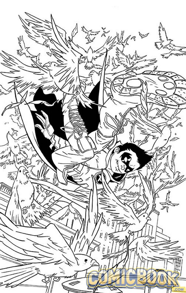 DC Comics Coloring Book variant colors | DC Comics Coloring Book ...