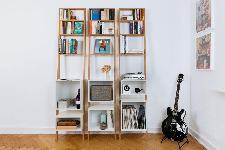 21 Perfect DIY Ladder Bookshelf And Bookcase Ideas