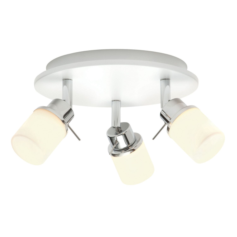 Saxby lighting rennes 3 light ceiling spotlight bathroom saxby lighting rennes 3 light ceiling spotlight aloadofball Images
