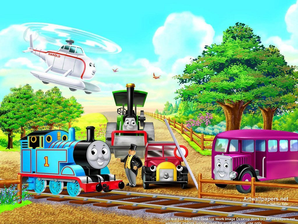 Hd Thomas And Friends Wallpapers Download Free 403006 Thomas
