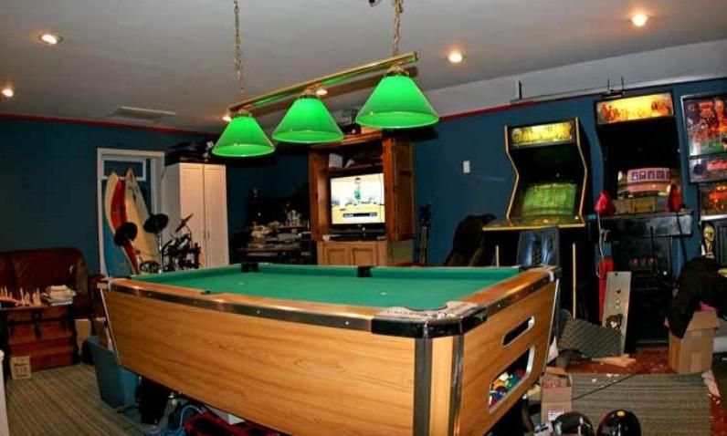 Arcade Man Cave Ideas Garage Game Rooms Man Cave Man Cave Games