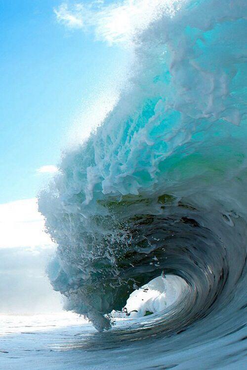 Landscape Ocean Waves Waves Beautiful Ocean