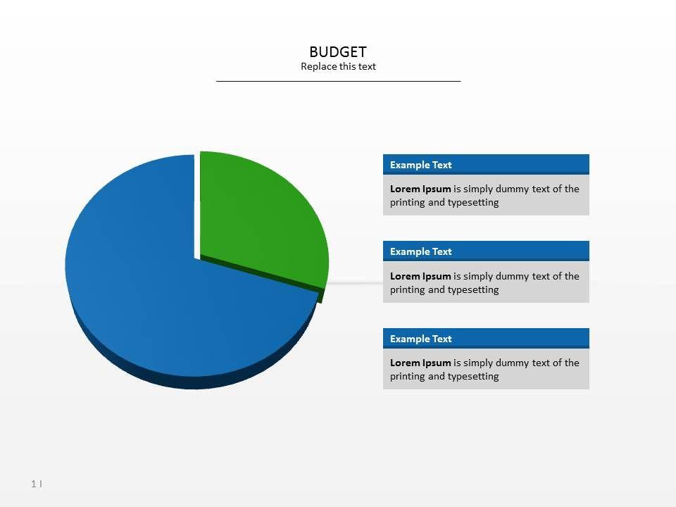powerpoint template budget slides at slideshop com presentationer
