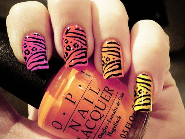 Animal Print Nails Art To Highlight Your Wild Side Collection