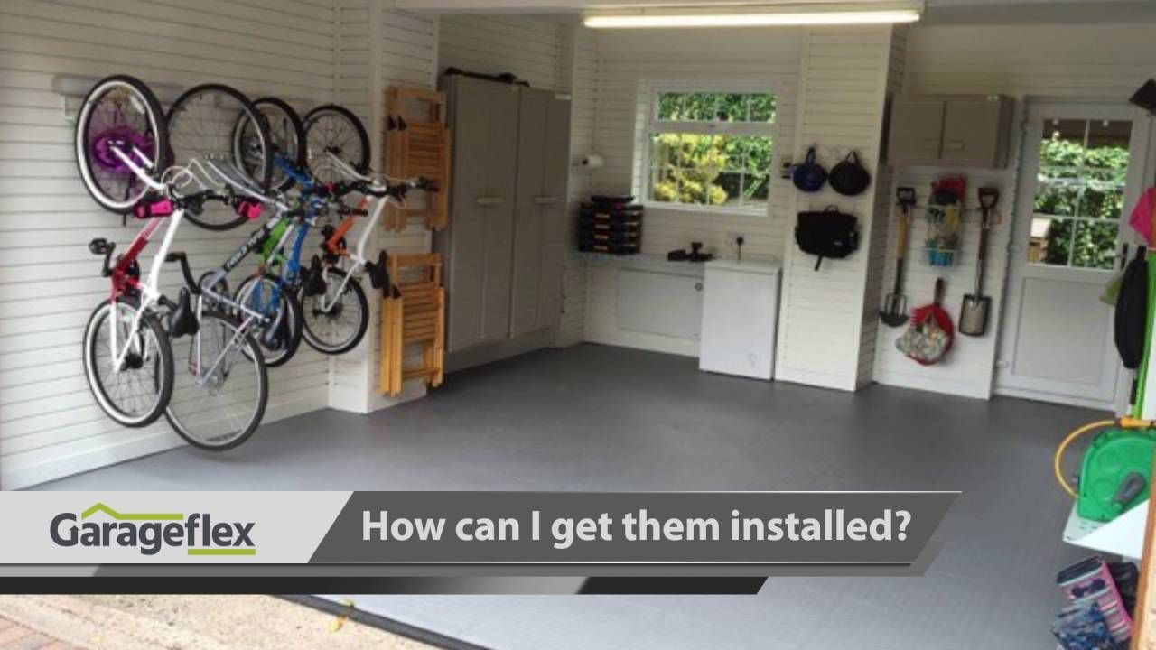 We Are Proud To Offer A Range Of Garage Floor Tiles Made From Pvc In