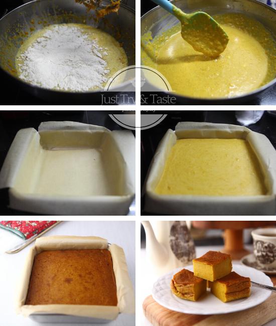 Resep Bingka Labu Kuning Jtt Makanan Masakan Simpel Sayuran Beku