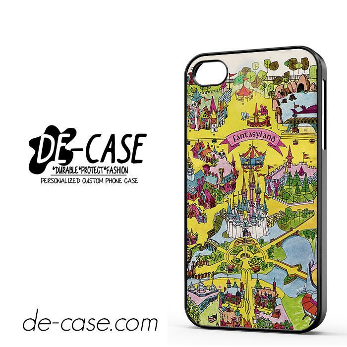 Disney Fantasy Land DEAL-3334 Apple Phonecase Cover For Iphone 4 / Iphone 4S