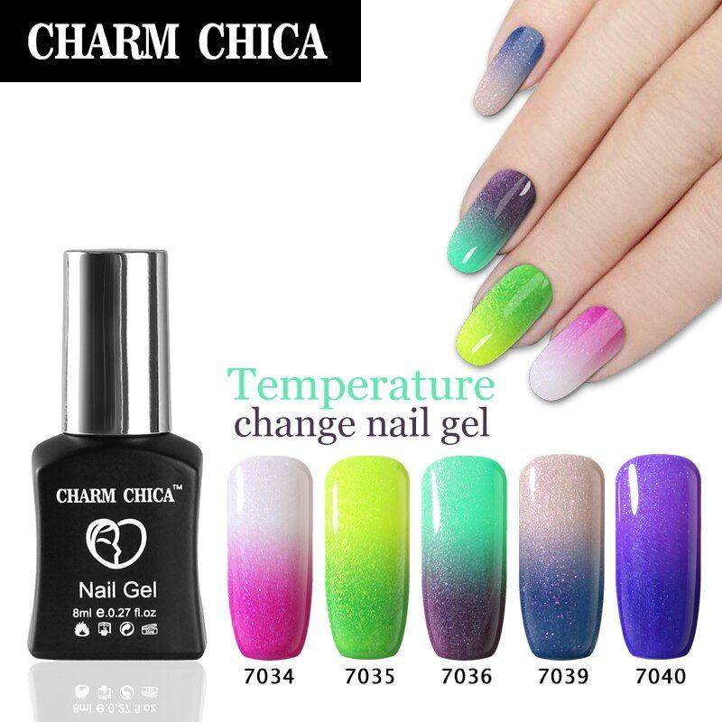 CHARM CHICA gel polish 6ml Hot Sale uv gel soak off red