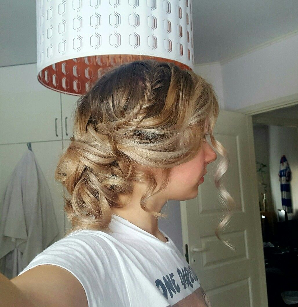 Prom Hairstyle Updo For Long Hair Curls Graduation Hairstyles