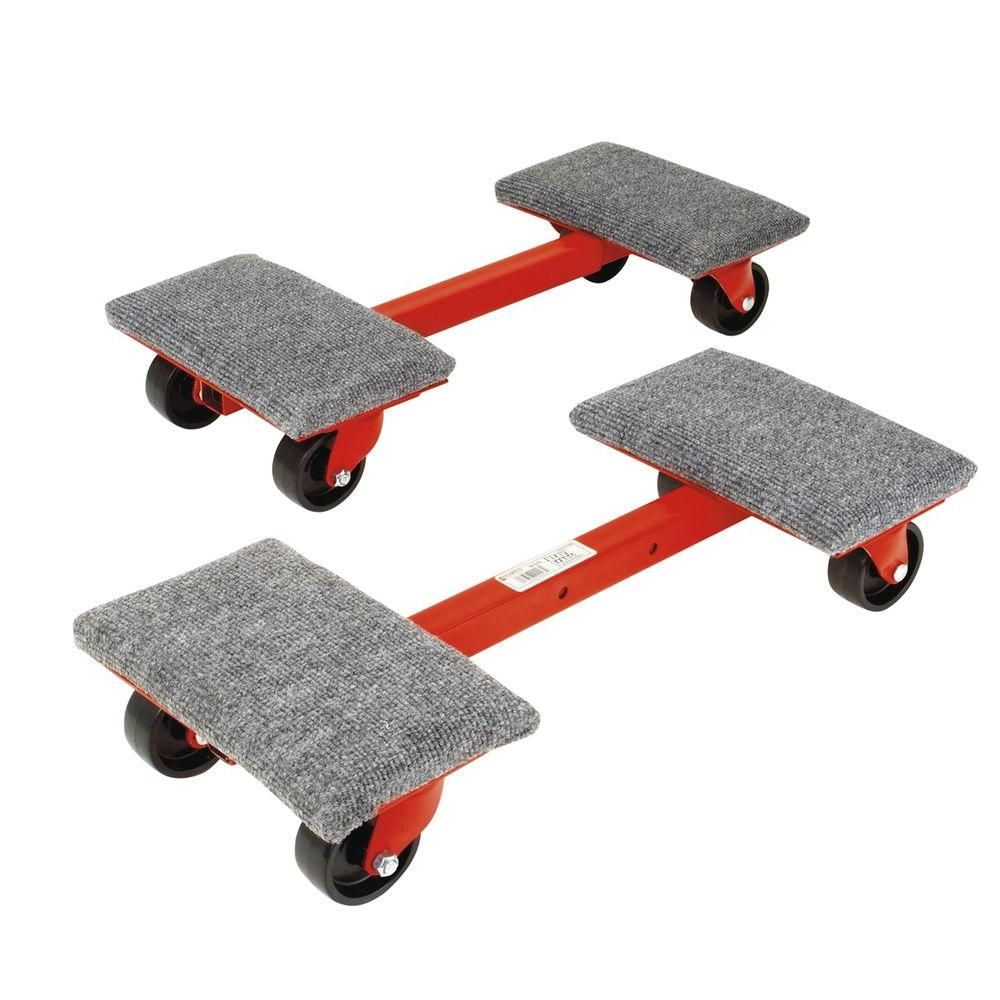 Roberts Heavy Duty 1 000 Lb Capacity Cargo Dollies 2 Pack 10 575 The Home Depot Moving Dolly Furniture Dolly Dollies