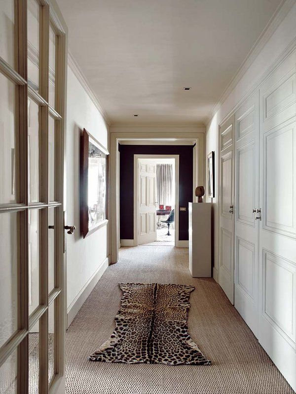 La importancia del pasillo | Decorador, Las puertas y Suelos