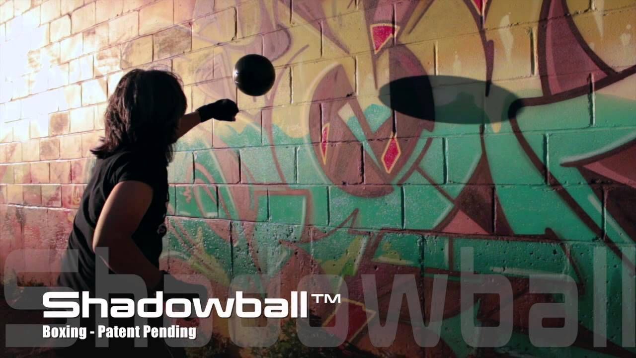 Shadowball – World's first portable punching bag!