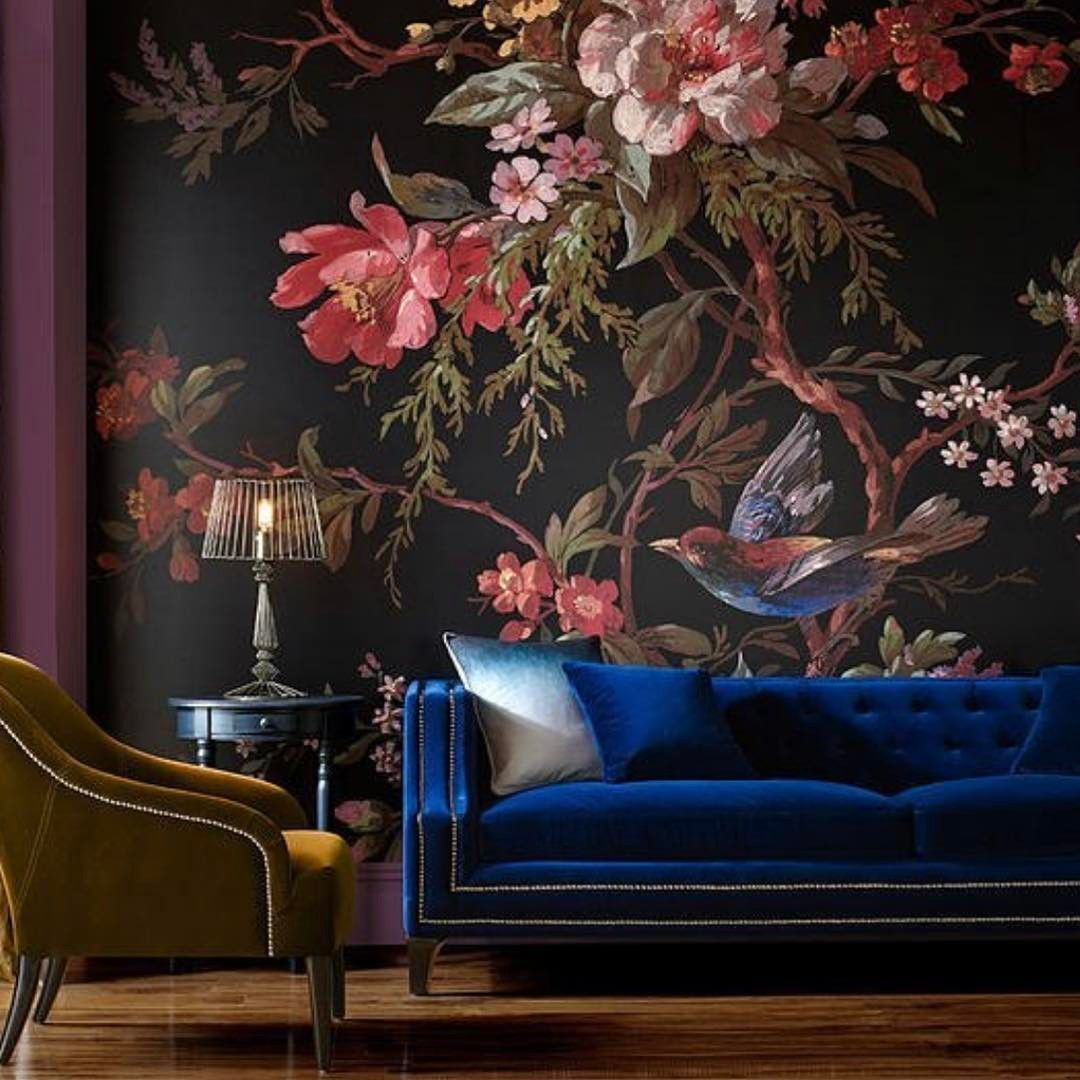Victorian Mural Wallpaper: Introducing Modern Victorian And How To Do It In Your Home