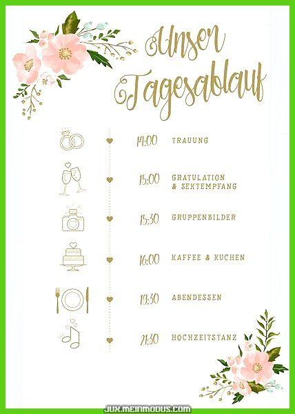 Legendär * Arbeitsplan zur Hochzeit Gold-Prunus persica * Komprimierung Mit unseren Ablaufplä… – Hochzeitsplanung