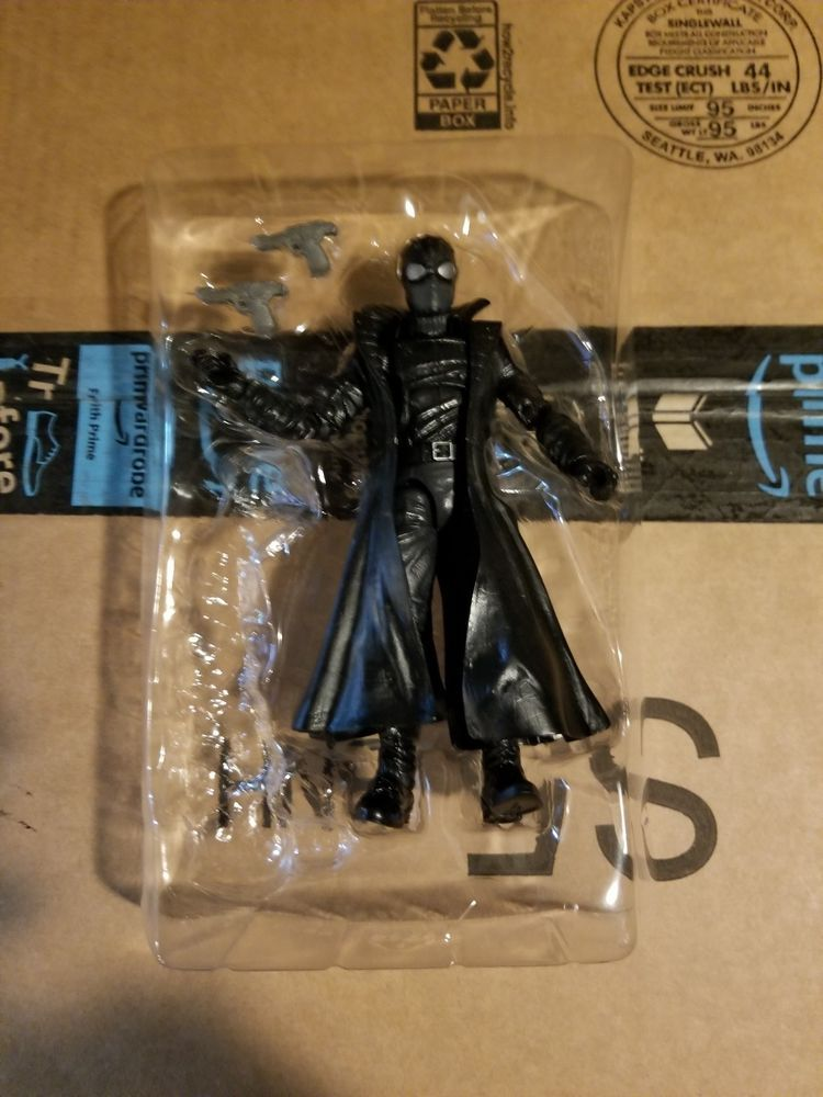 Free Shipping! Marvel Legends Noir Spiderman from Lizard BAF Wave no ... f84cdc1ed162