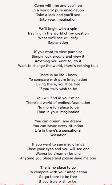 Pure Imagination | Tattoo inspiration | Imagination quotes