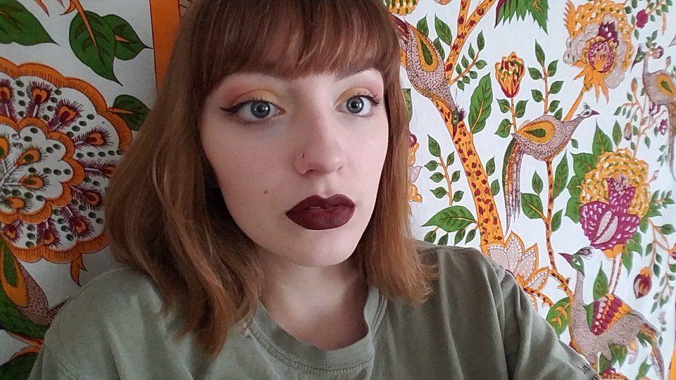Eyes mica cosmetics yellow eyeshadow (Allowance) and
