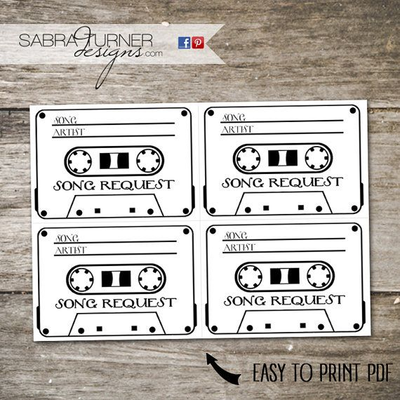 Cassette Tape Rsvp Card Song Request Card By Sabraturnerdesigns Rsvp Wedding Cards Song Request Wedding Rsvp