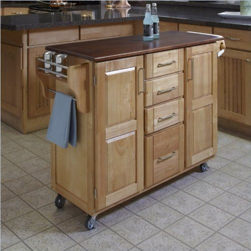Online Shopping!! Home Styles 9100-1017G Create-a-Cart, Natural ...