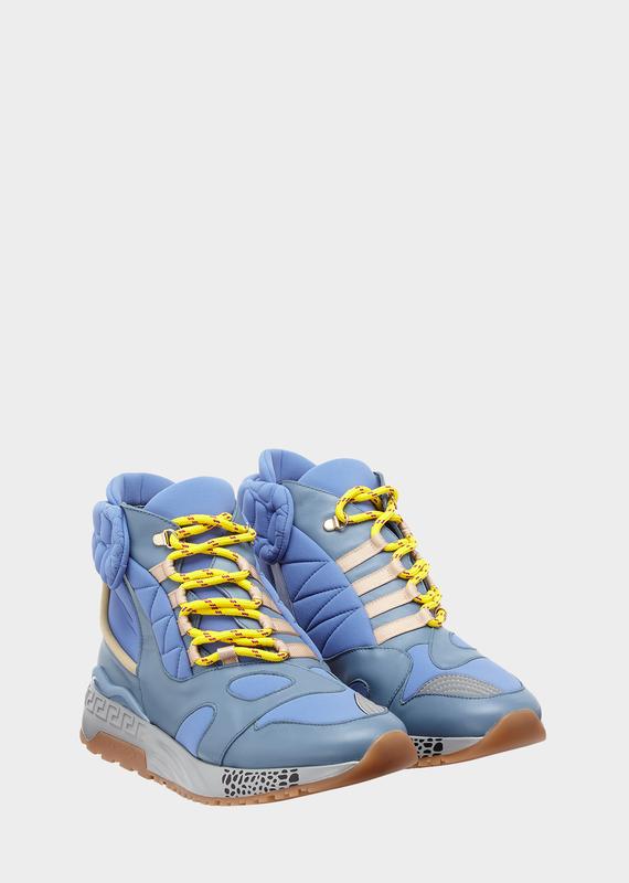 d91b6800e6 VERSACE Nemesis High Top Sneakers. #versace #shoes   Versace ...