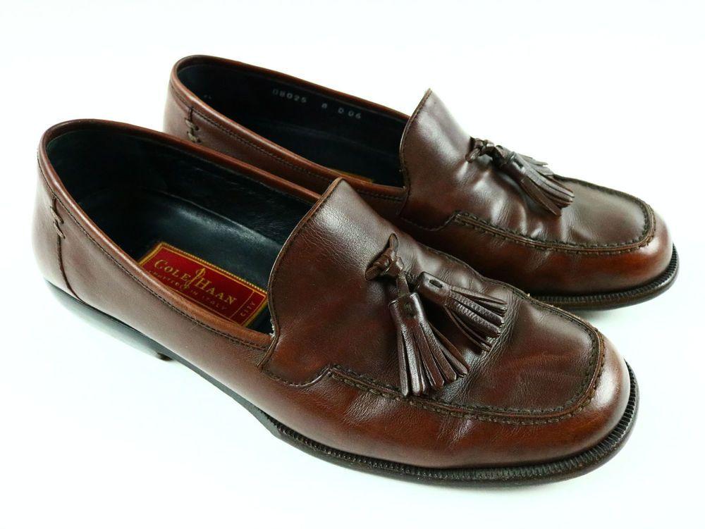order get online new authentic COLE HAAN Men's Dwight Tassel Loafer Slip On Kiltie Moccasin ...