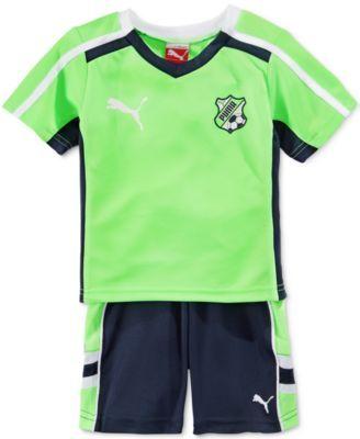 645ce61ff Puma Baby Boys  2-Piece Soccer Jersey   Shorts Set