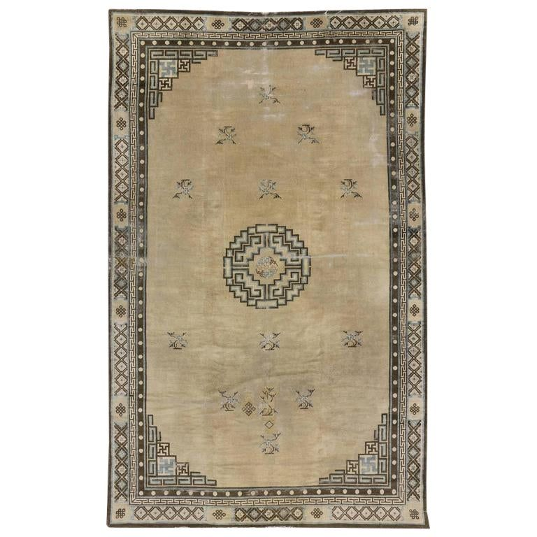 Antique Chinese Peking Rug With Art Deco Style Art Deco Fashion