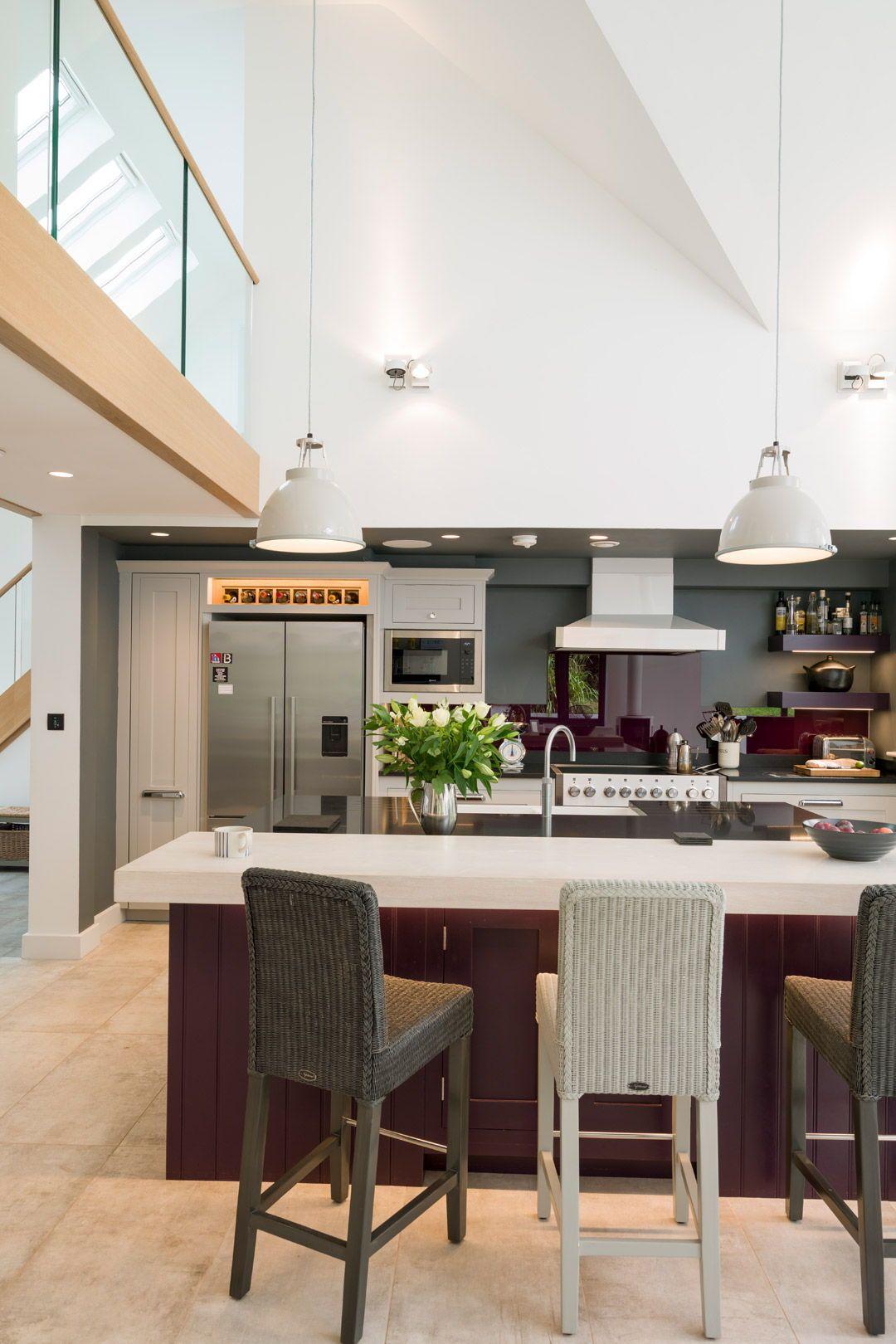 Design Your Own Kitchen: Breakfast Bar In Modern Kitchen Ideas. Building Your Own