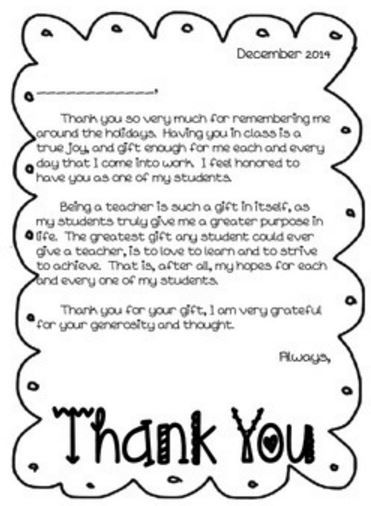 efficiency in sending student thank you cards make a template brilliantideas
