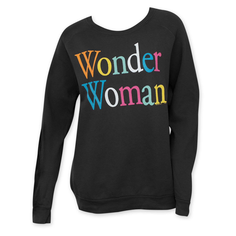 Junk Food Women's Wonder Woman Crewneck Sweatshirt