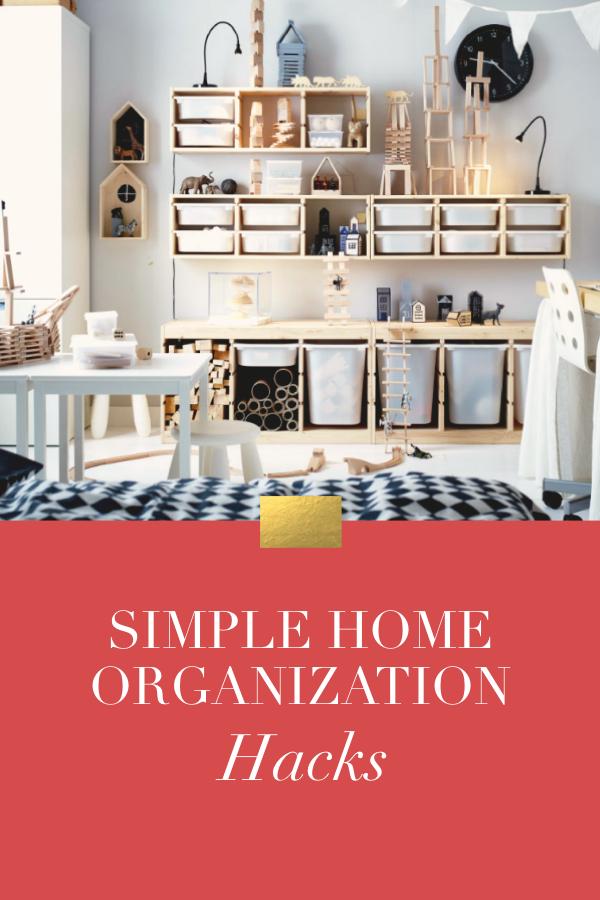 Home Organization Hacks